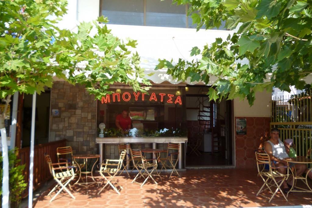 Bougatsa Cafe, Paralia Dionisiou Beach, Halkidiki