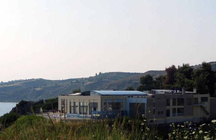 SPA-center in Loutra, Halkidiki, Greece