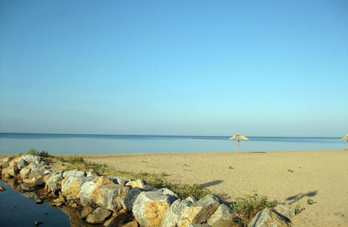 Beach in Nea Moudania