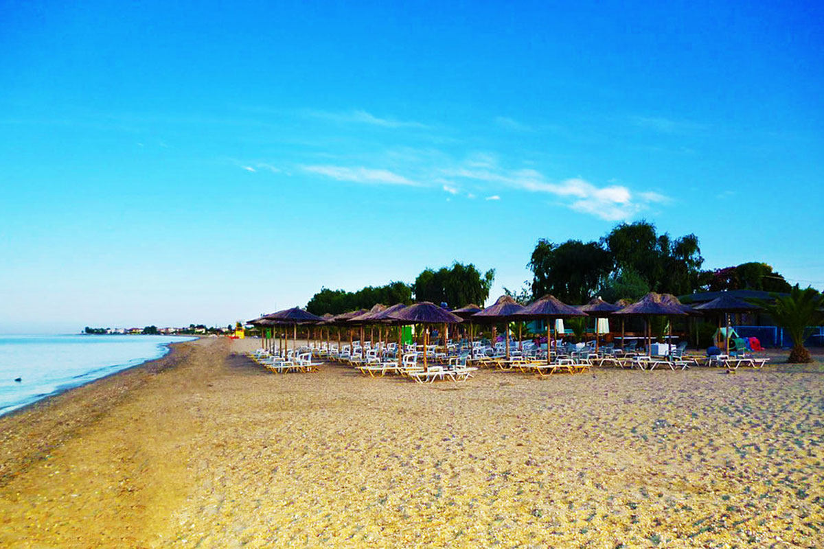 Паралия дионисиу фото пляжей