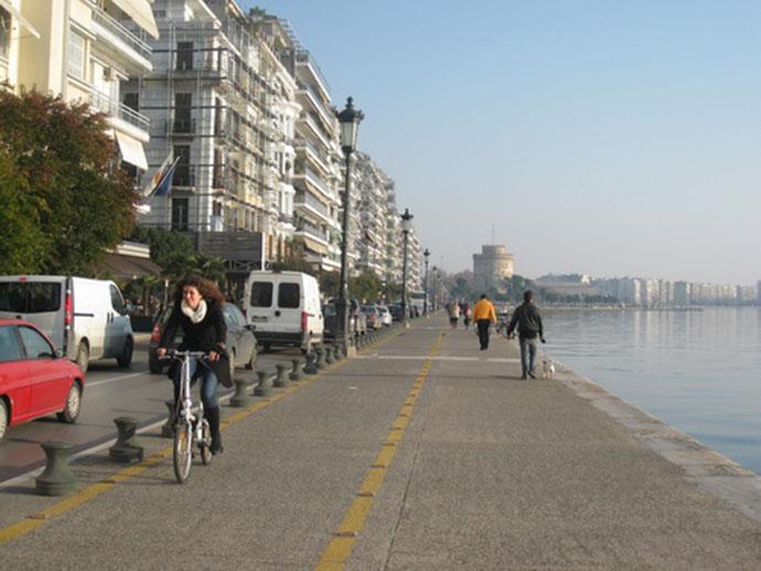 Seaside in Thessaloniki